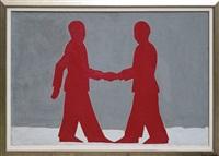 shaking hands by jaroslaw modzelewski