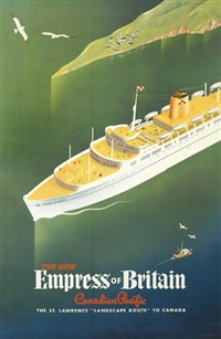 the new empress of britain/canadian pacific by roger couillard