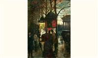 le kiosque à la madeleine by adolphe milcent