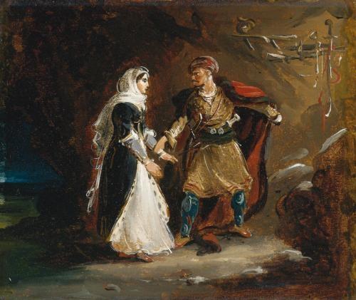 la fiancée dabydos by théodore géricault