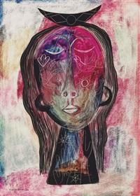 cabeza de mujer by mario carreño