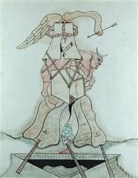 ohne titel (surrealistische komposition) by jorge camacho