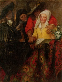 the procuress by hugo vogel