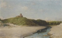 redcastle, the beauly firth by william samuel henry (sir) llewellyn