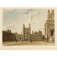 the history of the colleges of winchester, eton and westminister (48 works) by (publisher) rudolph ackermann