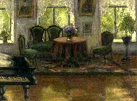 sunlit interior by s. emilianov