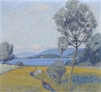 mörigen, le petit saule by jean philippe edouard robert