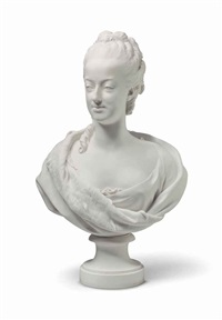 bust of the queen marie-antoinette by augustin pajou