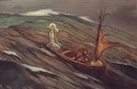 la barque de notre dame des tempêtes by jean georges cornelius