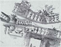 design for a balustrade by mauro antonio (maurino) tesi