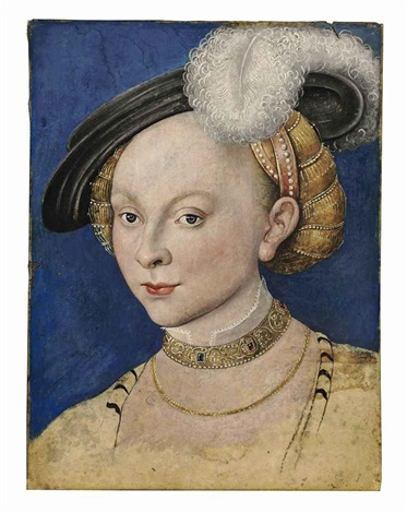 portrait of a lady by lucas cranach the younger