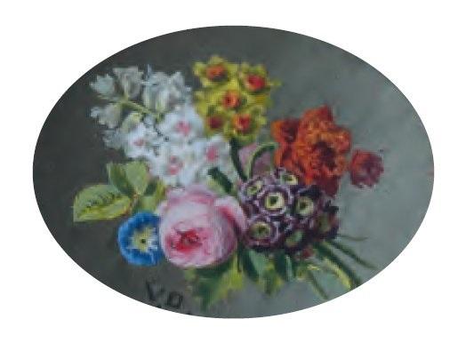 bouquet de fleurs by jan frans van dael
