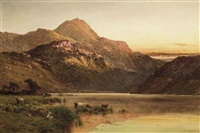 glen taing, loch long by alfred de breanski sr