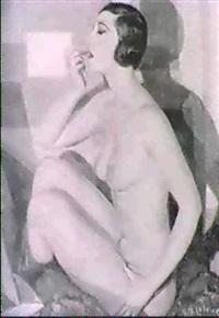 femme se fardant by armand leleux