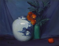 the chinese jar by leon dabo