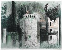 scotney castle, kent by john piper