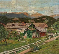 farm in summer by max kahrer