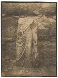 découverte d'une statue acéphale eleusis by francois lenormant