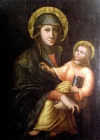 vierge à l'enfant by austro-hungarian school (17)