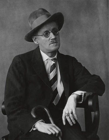 james joyce by berenice abbott