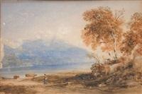 deux jeunes bretonnes devant la mer by fanny laurent fleury