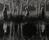small woods where i met myself by jerry uelsmann