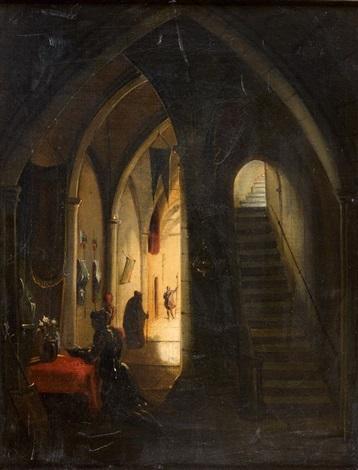 la prière du chevalier avant la croisade by françois marius granet