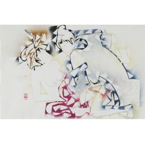 study of wet (couple) by gajin fujita