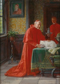 the cardinal and the cat by adolf humborg