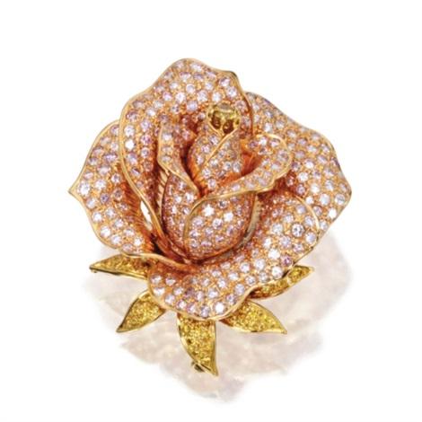 rose brooch by sabbadini