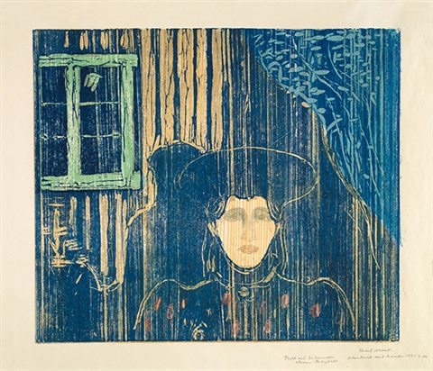 mondschein i by edvard munch
