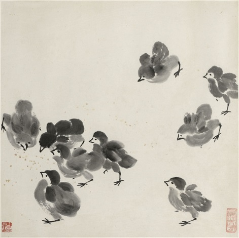 chicks by qi baishi
