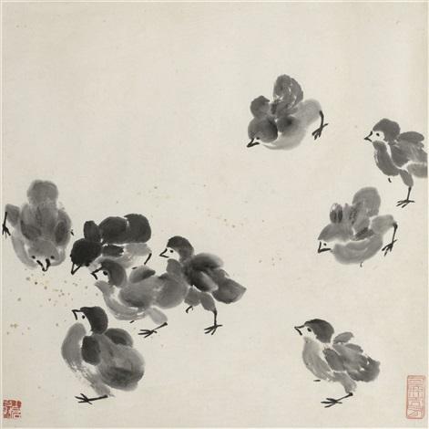 chicks by qi baishi