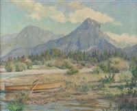 wolfgangsee by franz glaubacker