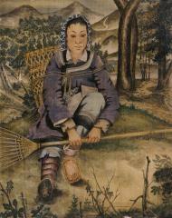 lady by pang xunqin