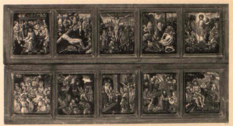 scènes de la passion du christ by hans holbein the elder