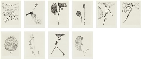 homely girl a life suite set of 10 by louise bourgeois