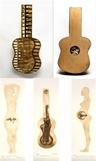guitarra abierta by jose yagues