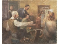 the art class by roland batchelor