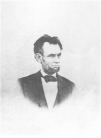 portrait of abraham lincoln by henry f. warren