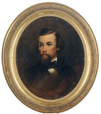 portrait of a gentleman by samuel bell waugh