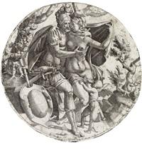 mars, venus and cupid by jean mignon
