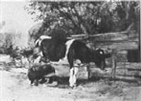 milkmaid by herman kruyder