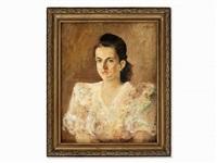 portrait of a young woman by françois edouard zier