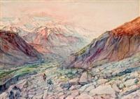 atravesando las montañas by josé arpa perea
