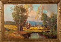 california landscape by george thompson pritchard