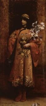 jeune orientale by p. simbaldi