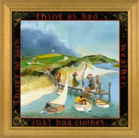 there's no such thing as bad weather, just bad clothes by elizabeth mumford