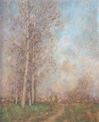 paysage by marcel adolphe bain