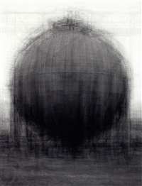 every...bernd and hilla becher spherical gasholders by idris khan